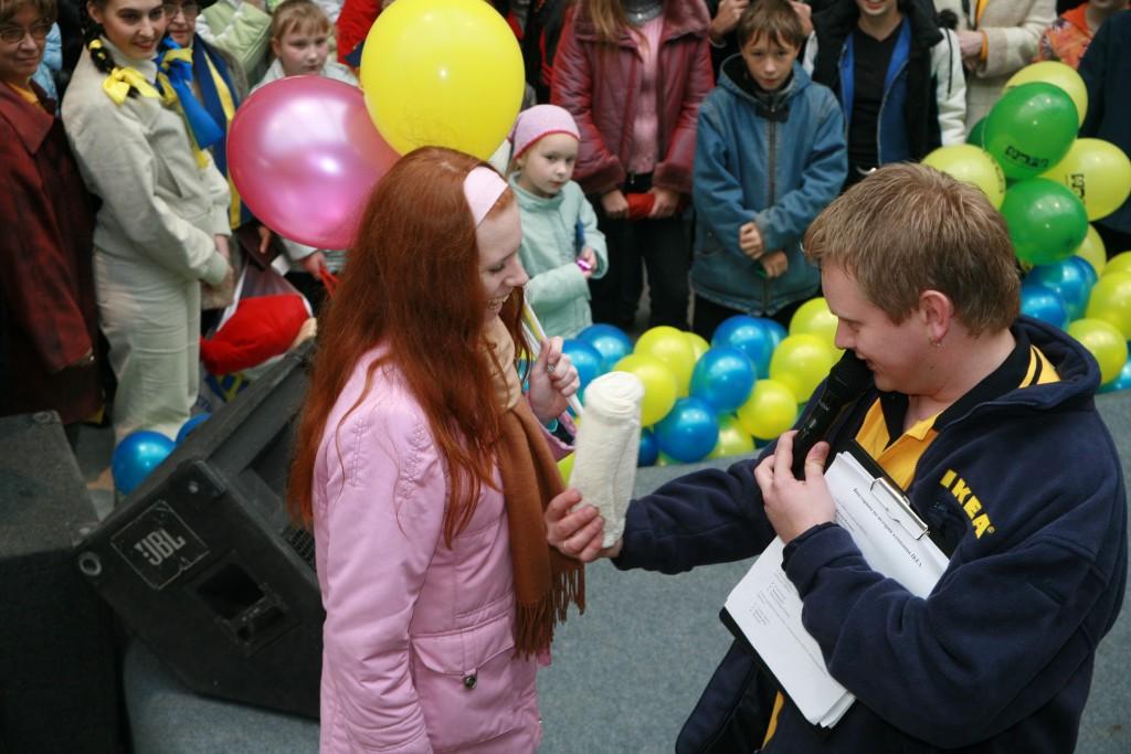 Екатеринбург Открытие ИКЕА - Ведущий Андрианов Алексей