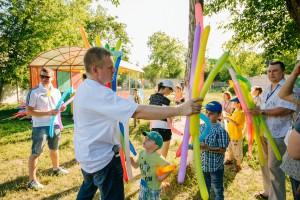 Детская Благотворительная Акция Компании Dutsun - Ведущий Андрианов Алексей