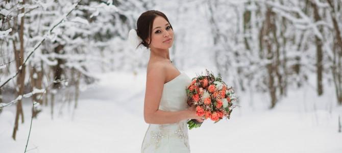 Свадьба в стиле Снежное Шоу